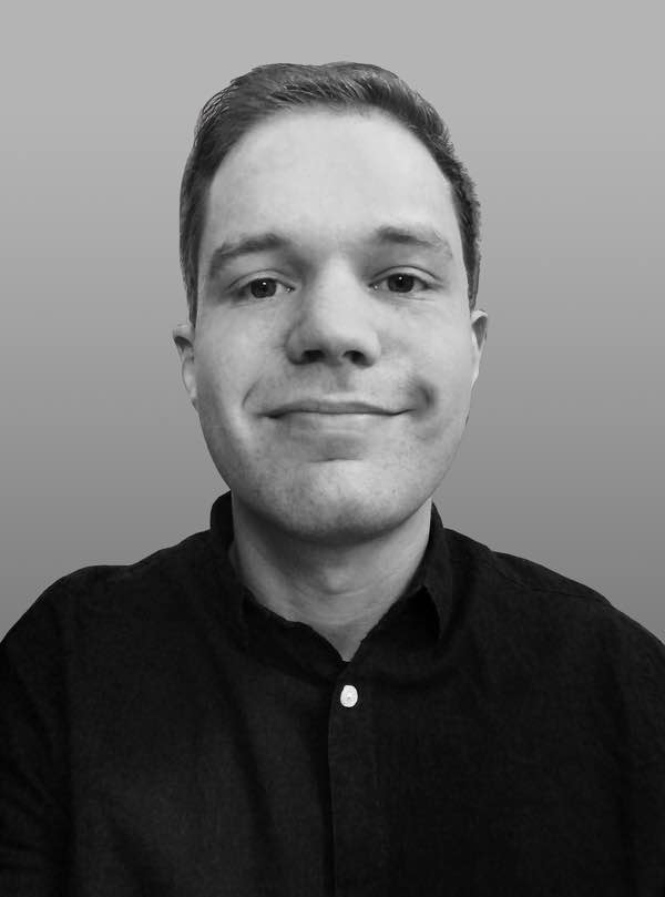 Black-and-white profile picture of Patrick Scheips